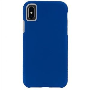 CASE-MATE IPHONE Xs MAX CASE BLUE NWOT